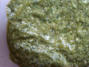 enjoy your raw pesto with your other raw favourites